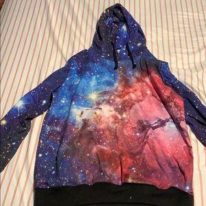 Galaxy sweatshirt